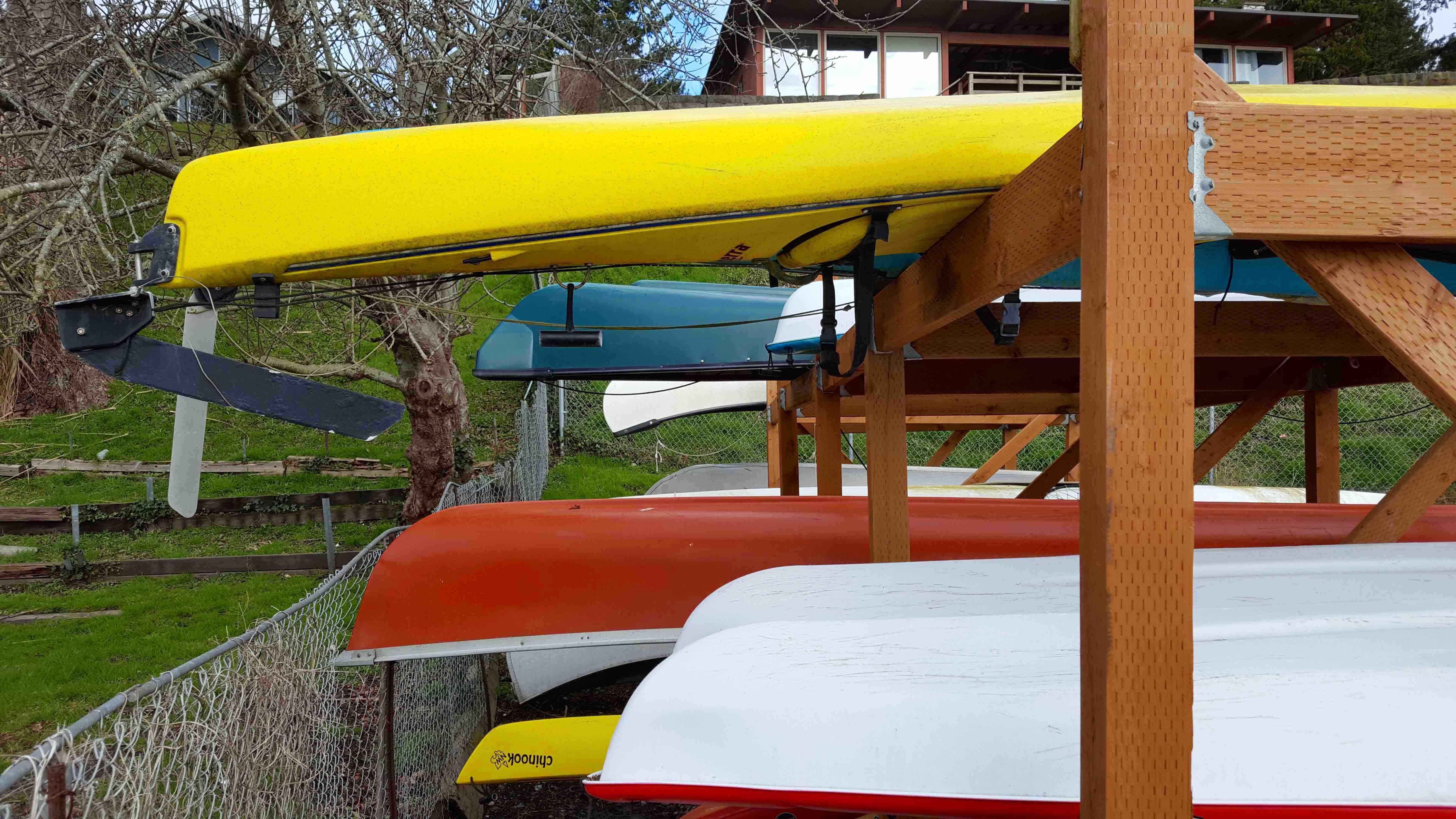 Boat Storage Rack Space Assignment Meeting March 19
